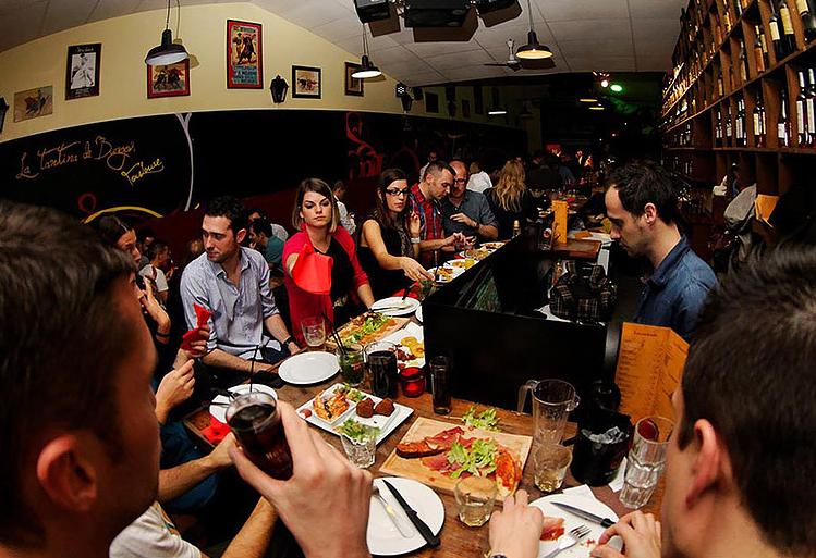 restaurant tapas la tantina des burgos toulouse