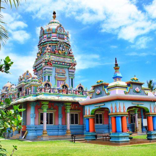 voyage ile de la réunion paysage activité temple