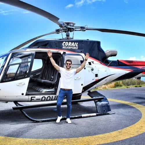 voyage ile de la réunion paysage activité hélicoptère
